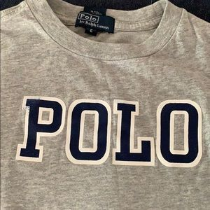 Boys size 6 polo long sleeve Ralph Lauren
